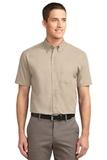 Short Sleeve Easy Care Shirt Stone Thumbnail