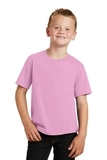 Youth Fan Favorite Tee Candy Pink Thumbnail