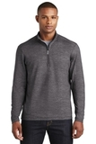 Sport-Wick Stretch Reflective Heather 1/2-Zip Pullover Charcoal Grey Thumbnail