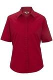 Women's Short Sleeve Service Shirt Red Thumbnail