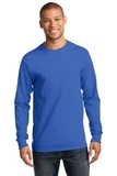 Essential Long Sleeve T-shirt Royal Thumbnail