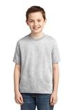 Youth 50/50 Cotton / Poly T-shirt Ash Thumbnail