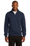 1/4-zip Sweatshirt True Navy Thumbnail