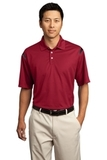 Nike Golf Dri-FIT Shoulder Stripe Polo Shirt Varsity Red with Black Thumbnail