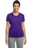 Women's PosiCharge Competitor Tee Purple Thumbnail