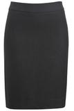 Women's Washable Suit Straight Skirt Steel Grey Thumbnail