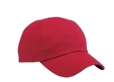 Washed Twill Cap Red Thumbnail