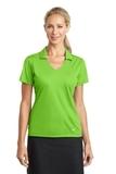 Women's Nike Golf Dri-FIT Vertical Mesh Polo Action Green Thumbnail