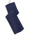 Waffle Microfiber Golf Towel True Navy Thumbnail
