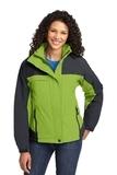 Women's Nootka Jacket Bright Pistachio with Graphite Thumbnail