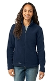 Women's Eddie Bauer Full-zip Fleece Jacket River Blue Navy Thumbnail