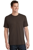 5.5-oz 100 Cotton T-shirt Dark Chocolate Brown Thumbnail