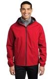 Essential Rain Jacket Deep Red Thumbnail