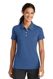 Women's Nike Golf Shirt Nike Sphere Dry Diamond Mountain Blue Thumbnail