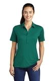 Women's Posi-UV Pro Polo Marine Green Thumbnail