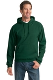 Pullover Hooded Sweatshirt Forest Green Thumbnail