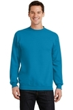 7.8-oz Crewneck Sweatshirt Neon Blue Thumbnail