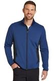 Eddie Bauer Full-Zip Heather Stretch Fleece Jacket Blue Heather Thumbnail