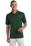 Tall Silk Touch Performance Polo Dark Green Thumbnail
