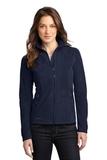 Women's Eddie Bauer Full-zip Microfleece Jacket Navy Thumbnail