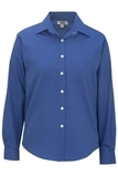 Women's Pinpoint Oxford LS French Blue Thumbnail