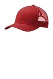 Snapback Trucker Cap Flame Red Thumbnail