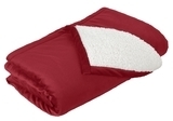 Mountain Lodge Blanket Red Rhubarb Thumbnail