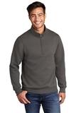 Core Fleece 1/4-Zip Pullover Sweatshirt Charcoal Thumbnail