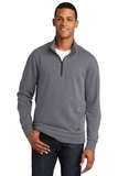 New Era Tri-Blend Fleece 1/4-Zip Pullover Shadow Grey Heather Thumbnail