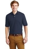 Spotshield 5.6-ounce Jersey Knit Polo Shirt Navy Thumbnail