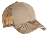 Camo Cap With Contrast Front Panel Realtree Xtra with Khaki Thumbnail