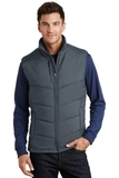 Puffy Vest Dark Slate with Black Thumbnail
