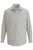 Men's No-iron Stay Collar Dress Shirt Silver Thumbnail