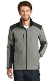 The North Face Tech Stretch Soft Shell Jacket TNF Medium Grey Heather with TNF Black Thumbnail