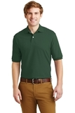 Spotshield 5.6-ounce Jersey Knit Polo Shirt Forest Thumbnail