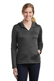 Women's Nike Golf Therma-FIT Full-Zip Fleece Hoodie Anthracite Thumbnail