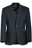 Men's Value Polyester Blazer Dark Navy Thumbnail