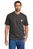 Short Sleeve Henley T-Shirt Carbon Heather Thumbnail