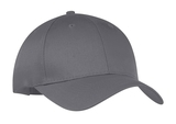 6-panel Twill Cap Charcoal Thumbnail