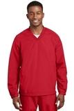 V-neck Raglan Wind Shirt True Red Thumbnail