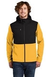 Castle Rock Hooded Soft Shell Jacket TNF Yellow Thumbnail