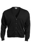 Men's 2-Pocket Cardigan Black Thumbnail