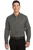 Tall SuperPro Twill Shirt Sterling Grey Thumbnail