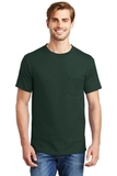 Beefy-t 100 Cotton T-shirt With Pocket Deep Forest Thumbnail