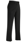 Women's Misses And Poly / Wool Plain Front Pant Black Thumbnail