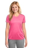 Women's Essential Performance Tee Neon Pink Thumbnail