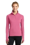 Women's Stretch 1/2-zip Pullover Dusty Rose Thumbnail