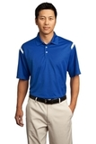Nike Golf Dri-FIT Shoulder Stripe Polo Shirt Varsity Royal with White Thumbnail