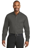Red House NonIron Twill Shirt Grey Steel Thumbnail