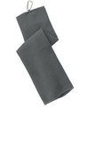 Waffle Microfiber Golf Towel Deep Smoke Thumbnail